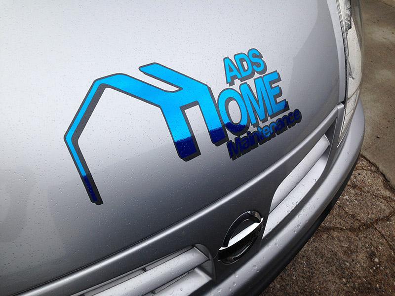 ADS Home Vehicle Wrap