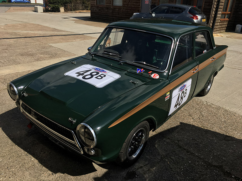 mk1 consul cortina classic race car