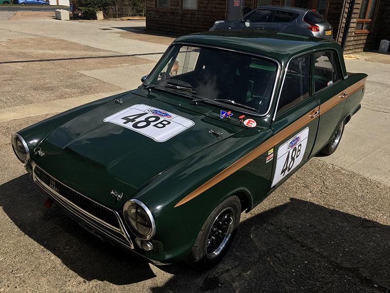 mk1 consul cortina classic race car