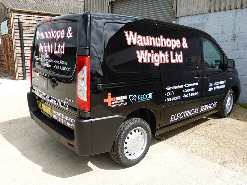 waunchope cut vinyl digital print